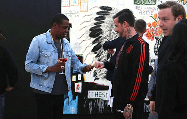 Jay Z Spotted Wearing The Great Frog