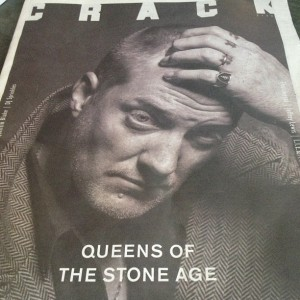 Josh Homme wears The Great Frog