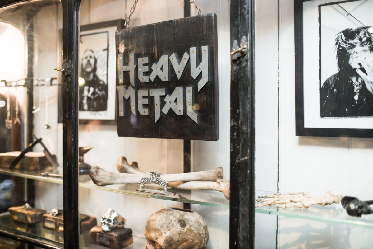 HEAVY METAL launch party