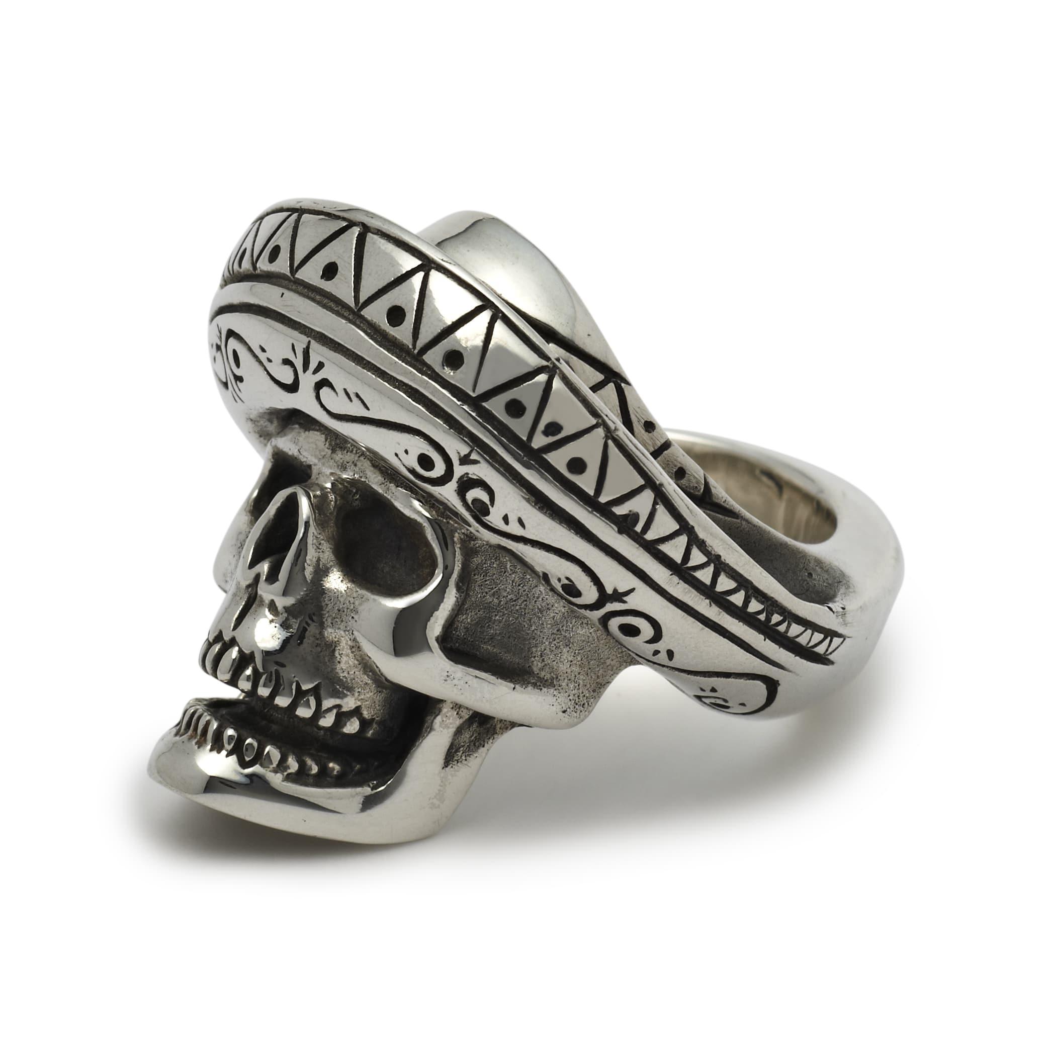 NEW: Desperado Skull Ring