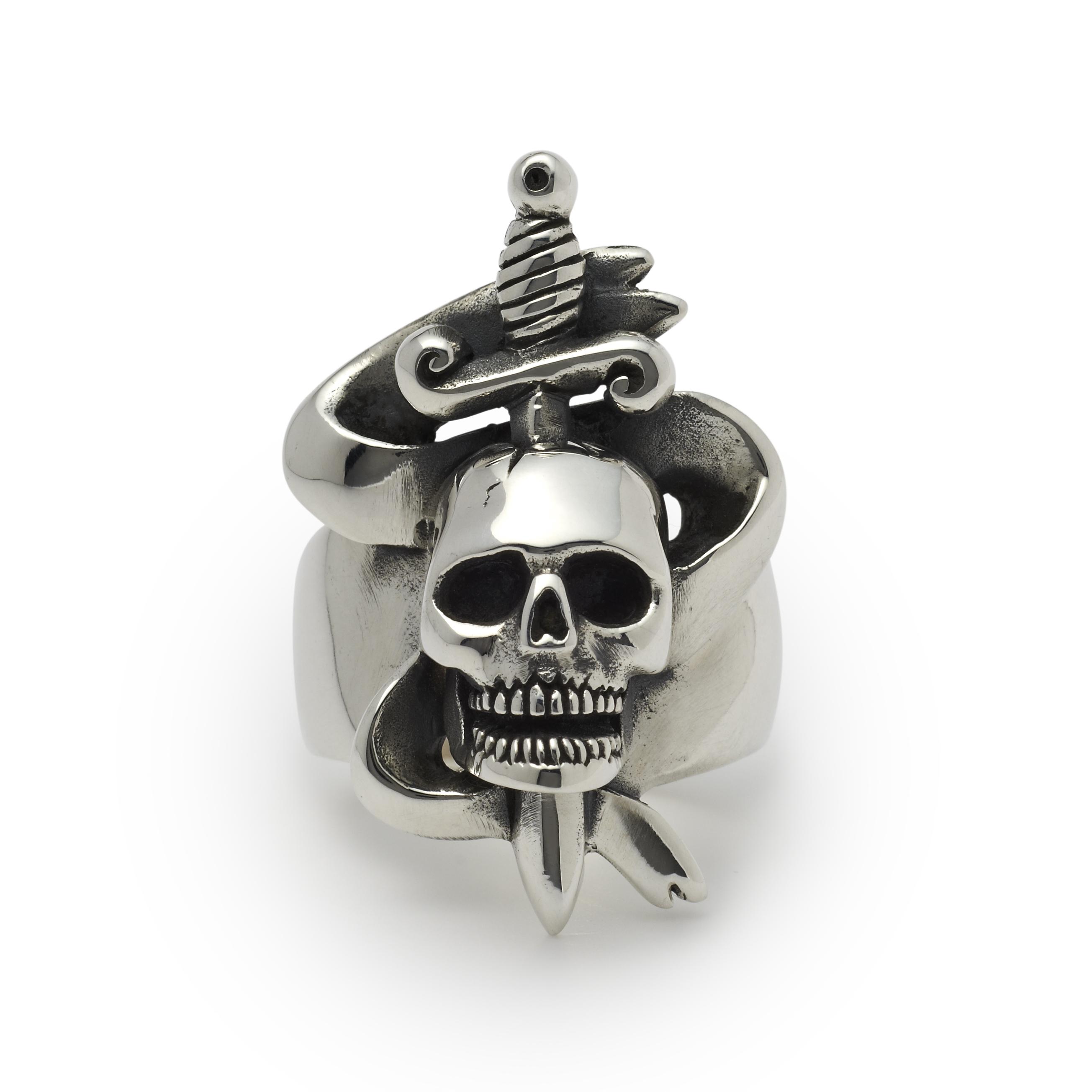 NEW: Skull and Dagger Ring