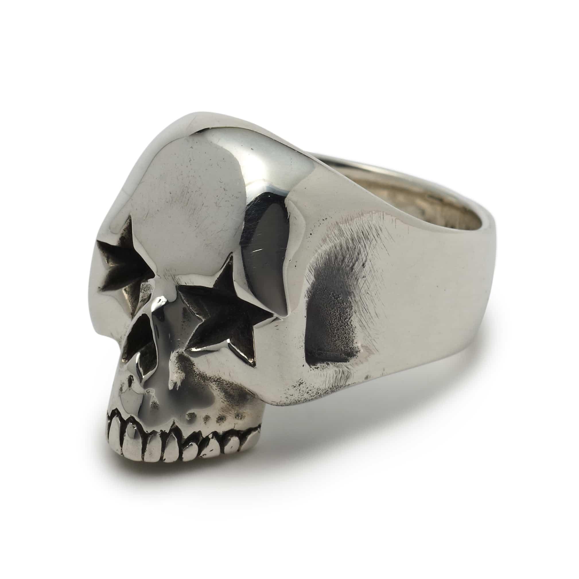 NEW: Star Eyed Skull Skull Ring