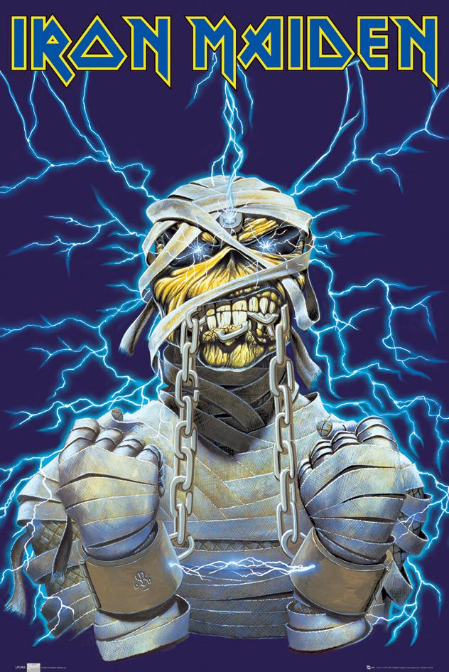 NEW: The Great Frog x Iron Maiden 'Powerslave Eddie'