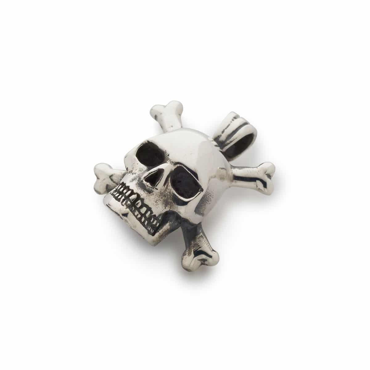 3d skull crossbones pendant the great frog 3d skull crossbones pendant aloadofball Gallery