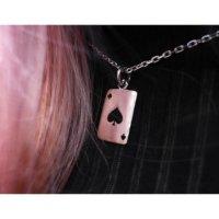 Ace of Spades Pendant