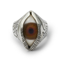engraved-eye-ring-brown-front