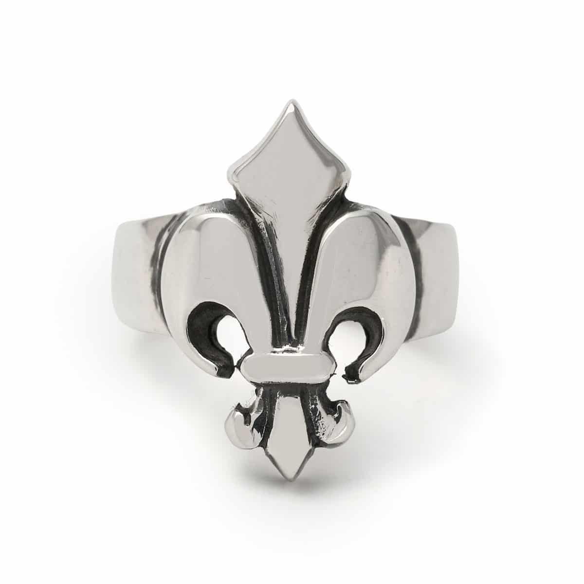 Small Fleur De Lis Ring The Great Frog