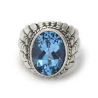 large-navajo-ring-with-faceted-topaz-front