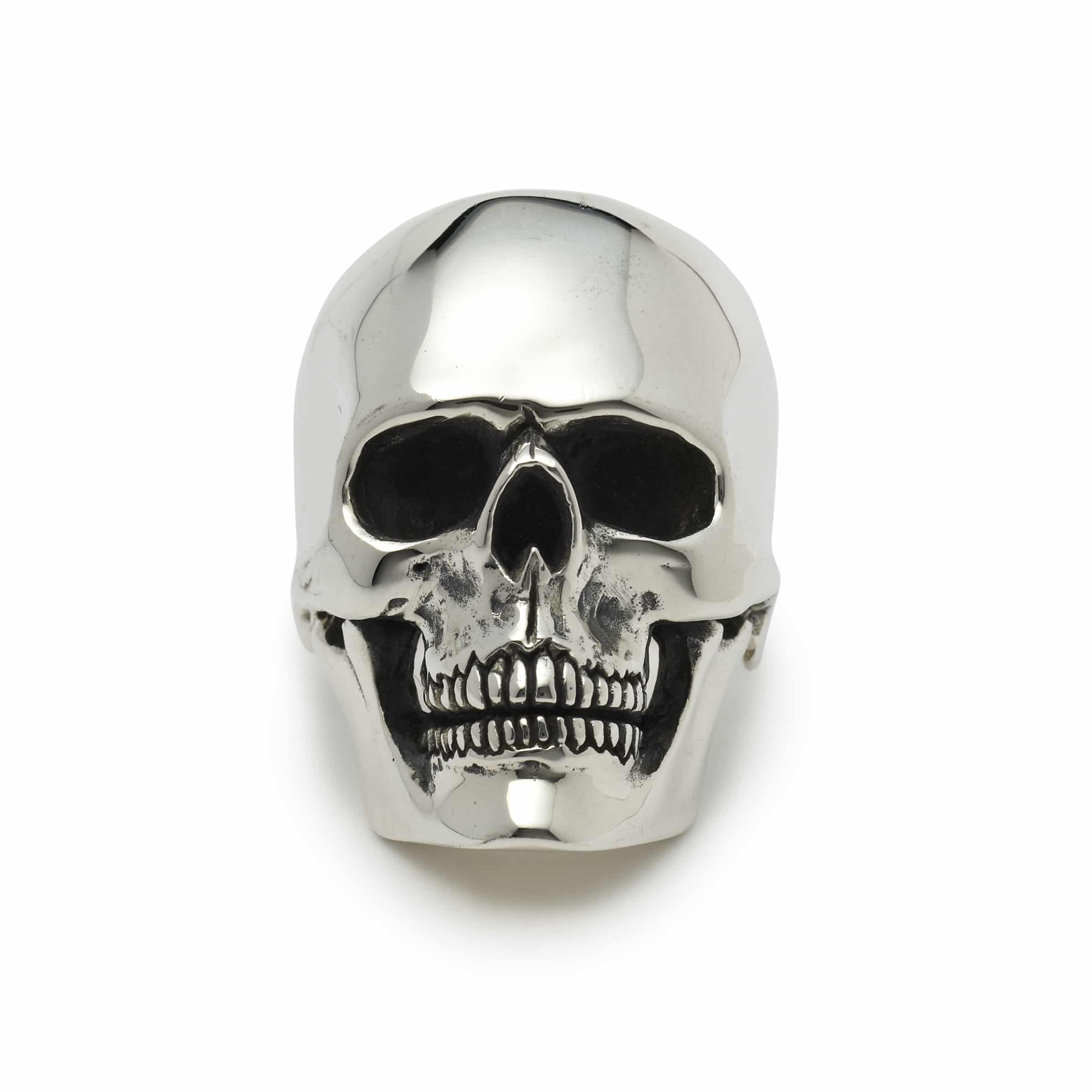 Medium Anatomical Skull Ring The Great Frog