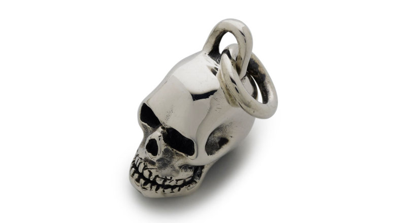 Medium skull link pendant the great frog mozeypictures Images