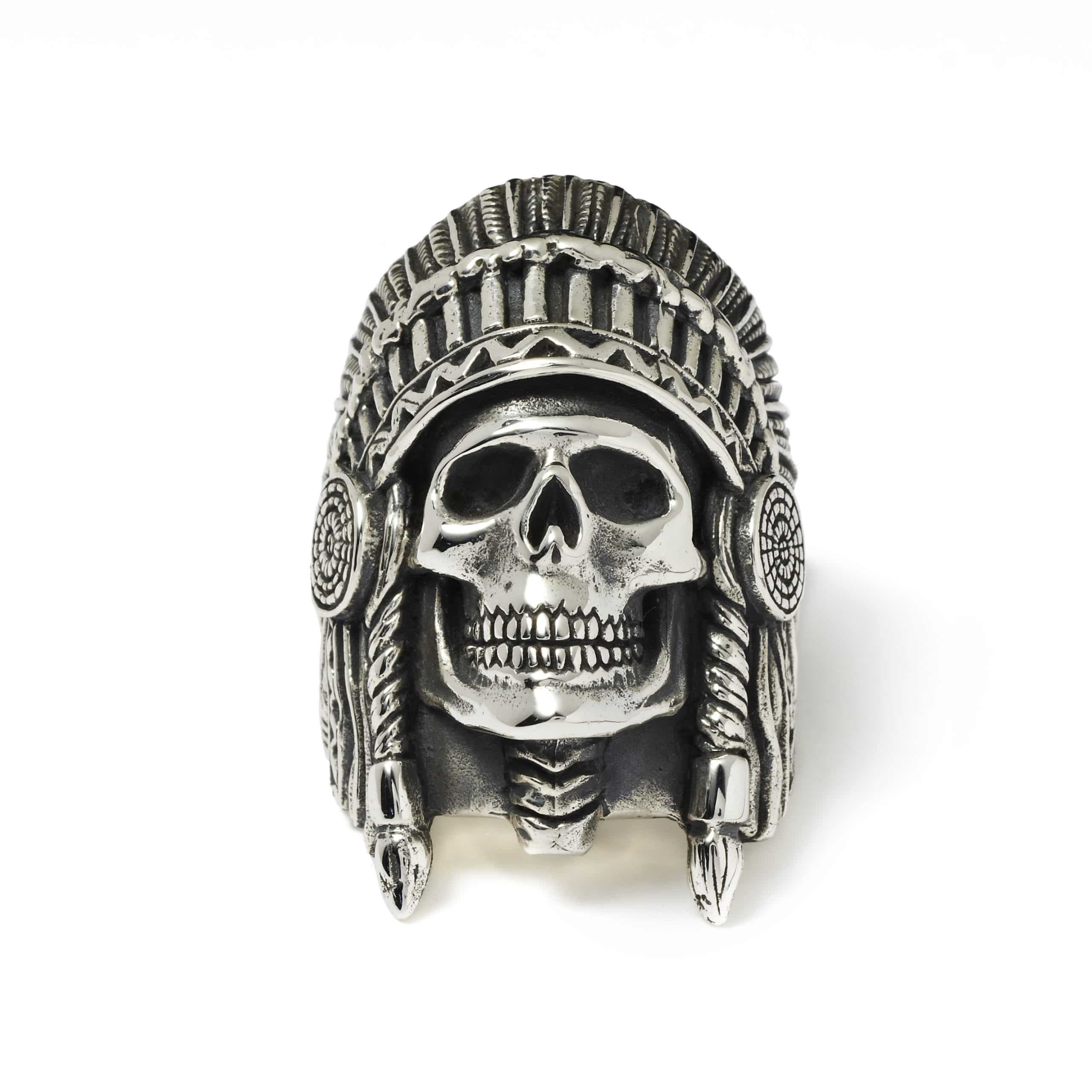Wes Lang Indian Chief Ring The Great Frog