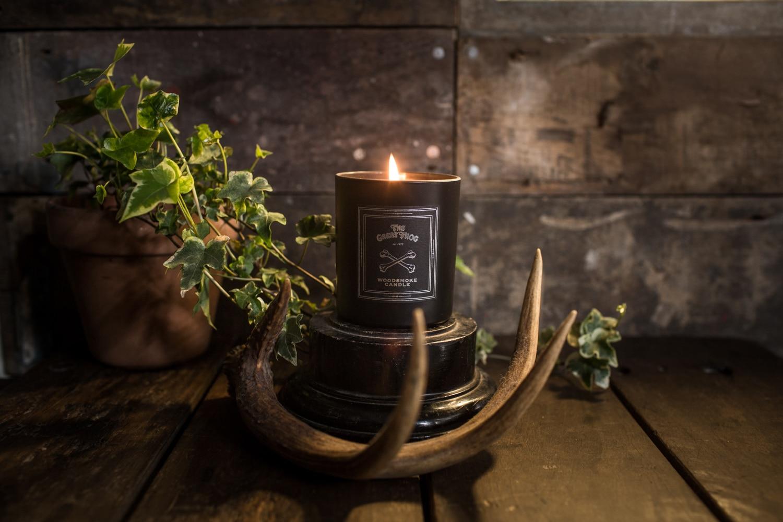 NEW: TGF Woodsmoke Candle