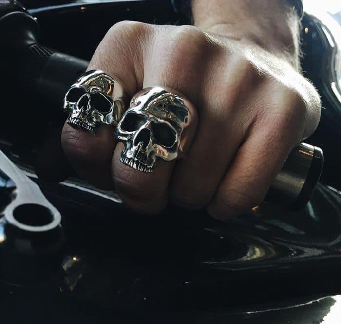 The Evolution of the Skull Ring