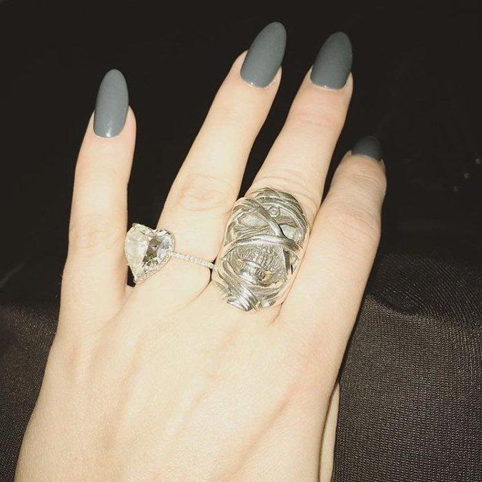 Lady Gaga's 'Powerslave Eddie' Ring