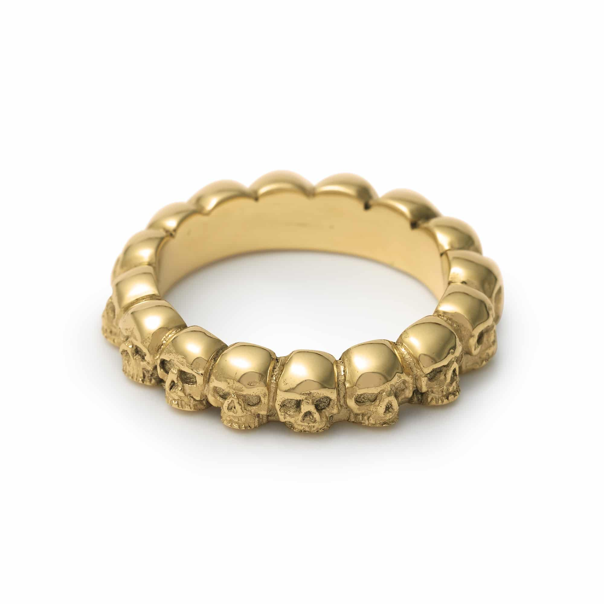 d ring leaf engagement product page rings gold cork nua and jewellery duille stack silver small s