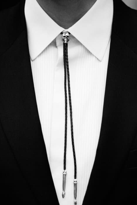 NEW: TGF Skull Bolo Tie