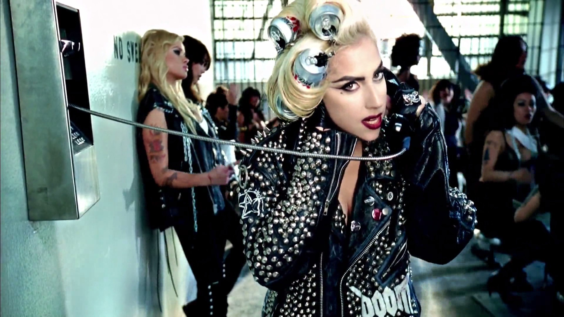 Lady Gaga Wears Michael Rodent Ring in 'Telephone' Video