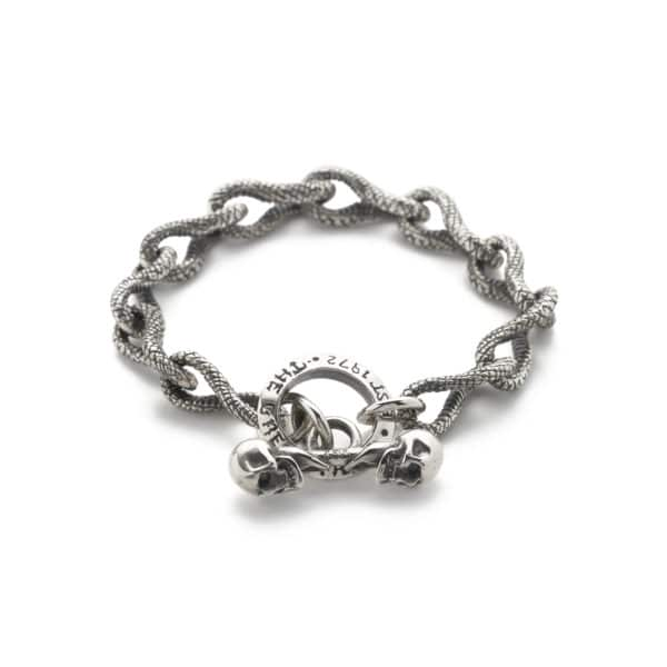 snake-link-bracelet-front
