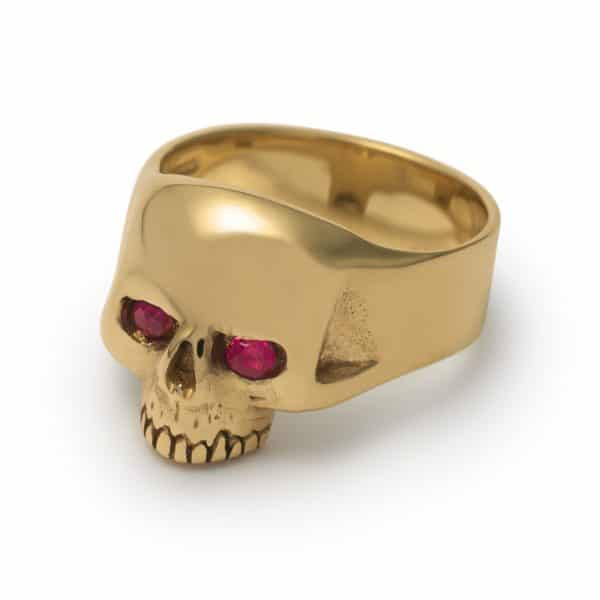 9ct-yellow-gold-smallest-evil-skull-ruby-eyes-ring-angled