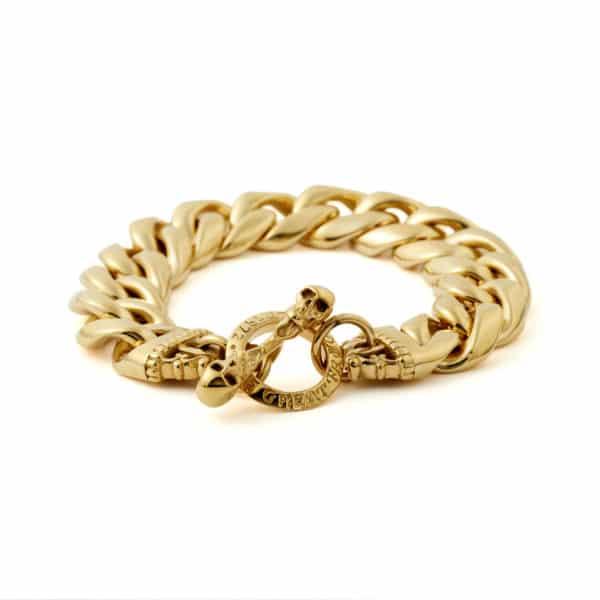 gold-thick-link-bracelet-front