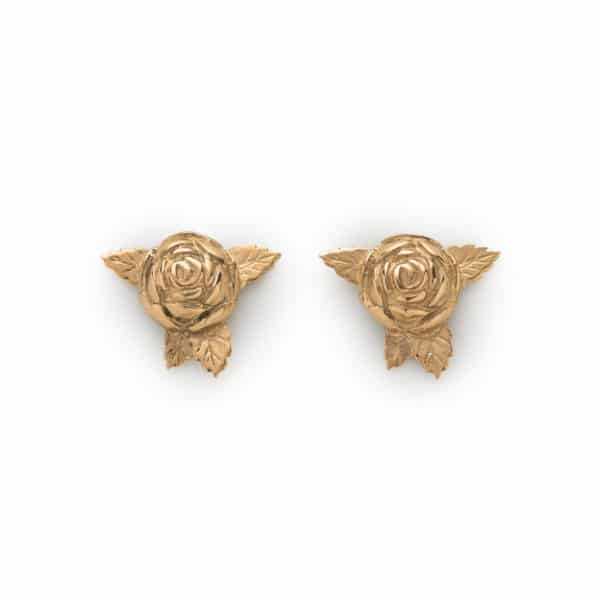 roses-gold-earstuds-front