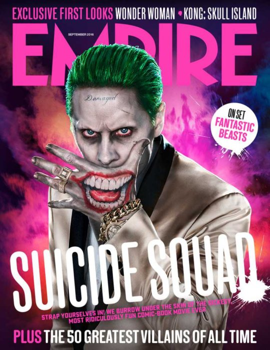 TGF on the Front Cover of Empire Magazine