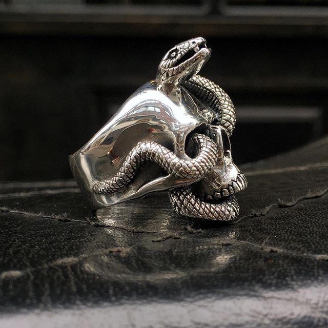 NEW: Nāgá Skull Ring