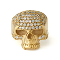 suicide-squad-gold-cz-encrusted-skull-ring-front
