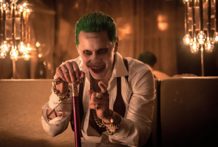 Jewellery for The Joker in Suicide Squad