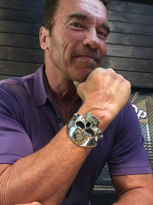 Arnold Schwarzenegger visits TGF Los Angeles