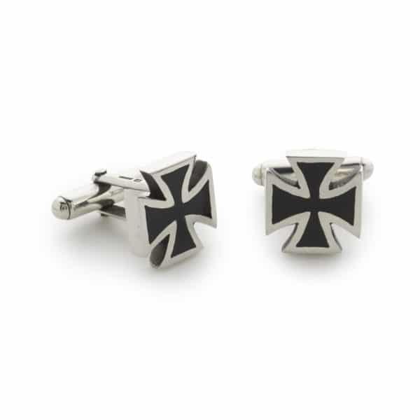 iron-cross-cufflinks-front