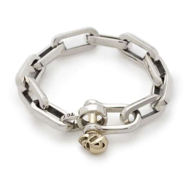 shackle-bracelet-gold-skull-front-angled