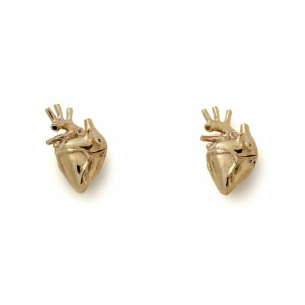 strangefruit-gold-heart-studs