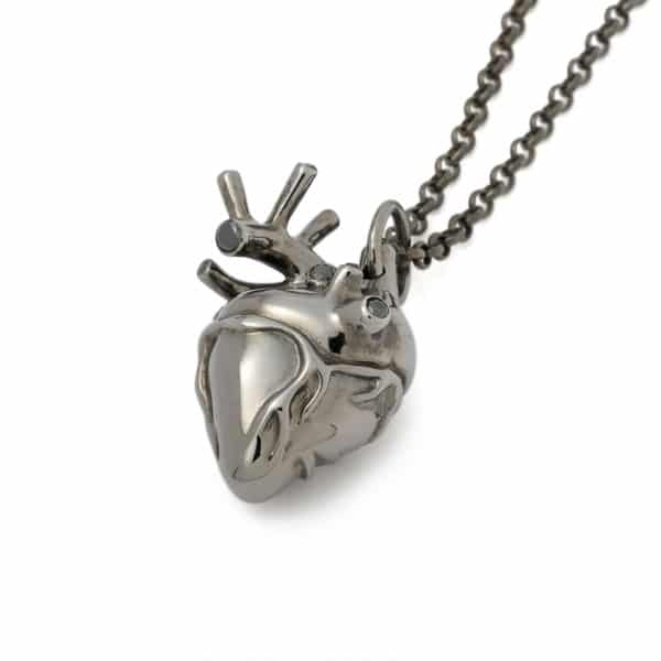 strangefruit-rhodium-plated-anatomical-heart-diamonds-front