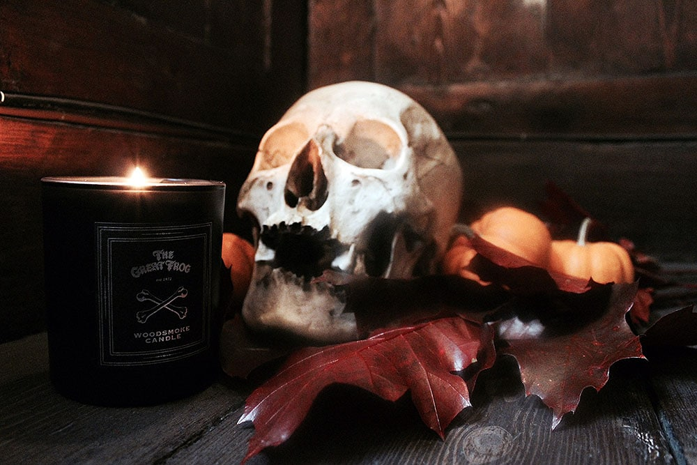 NEW: Woodsmoke Candle
