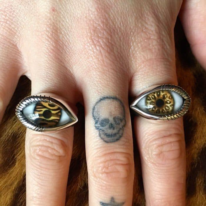 NEW: Animal Print Eye Rings