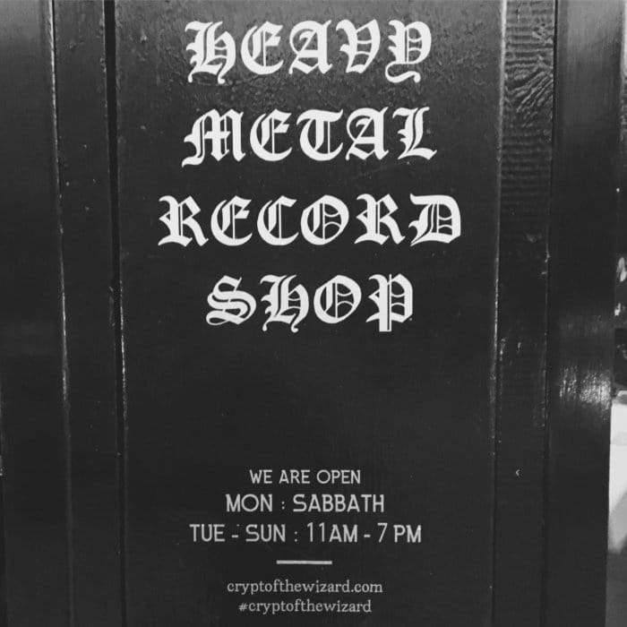 London's Heaviest Record Store: Crypt of The Wizard
