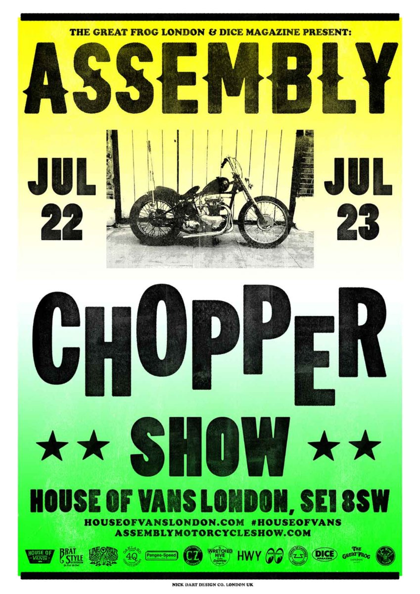 Assembly Chopper Show 2017