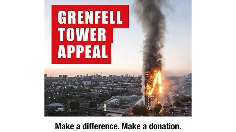 Help Us Raise Money For Tragedy at Grenfell Tower