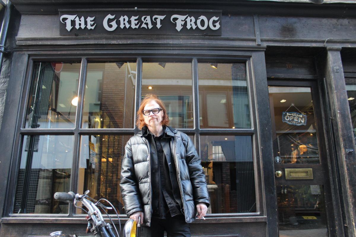 Store Visit: Mark Lanegan