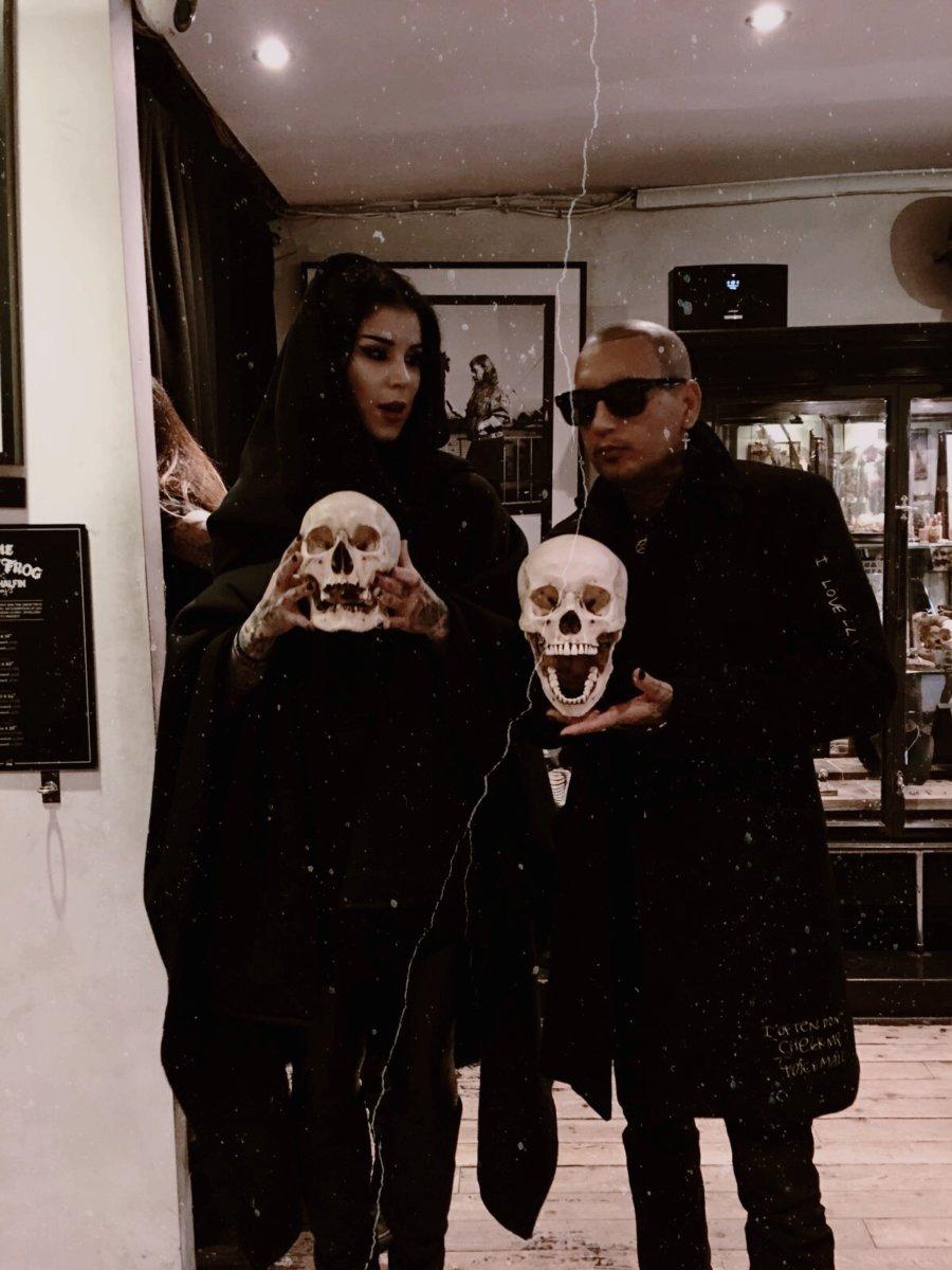 Store Visit: Kat Von D and Rafael Reyes