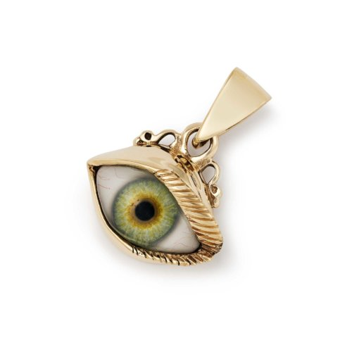 Pendants the great frog gold eye pendant mozeypictures Image collections