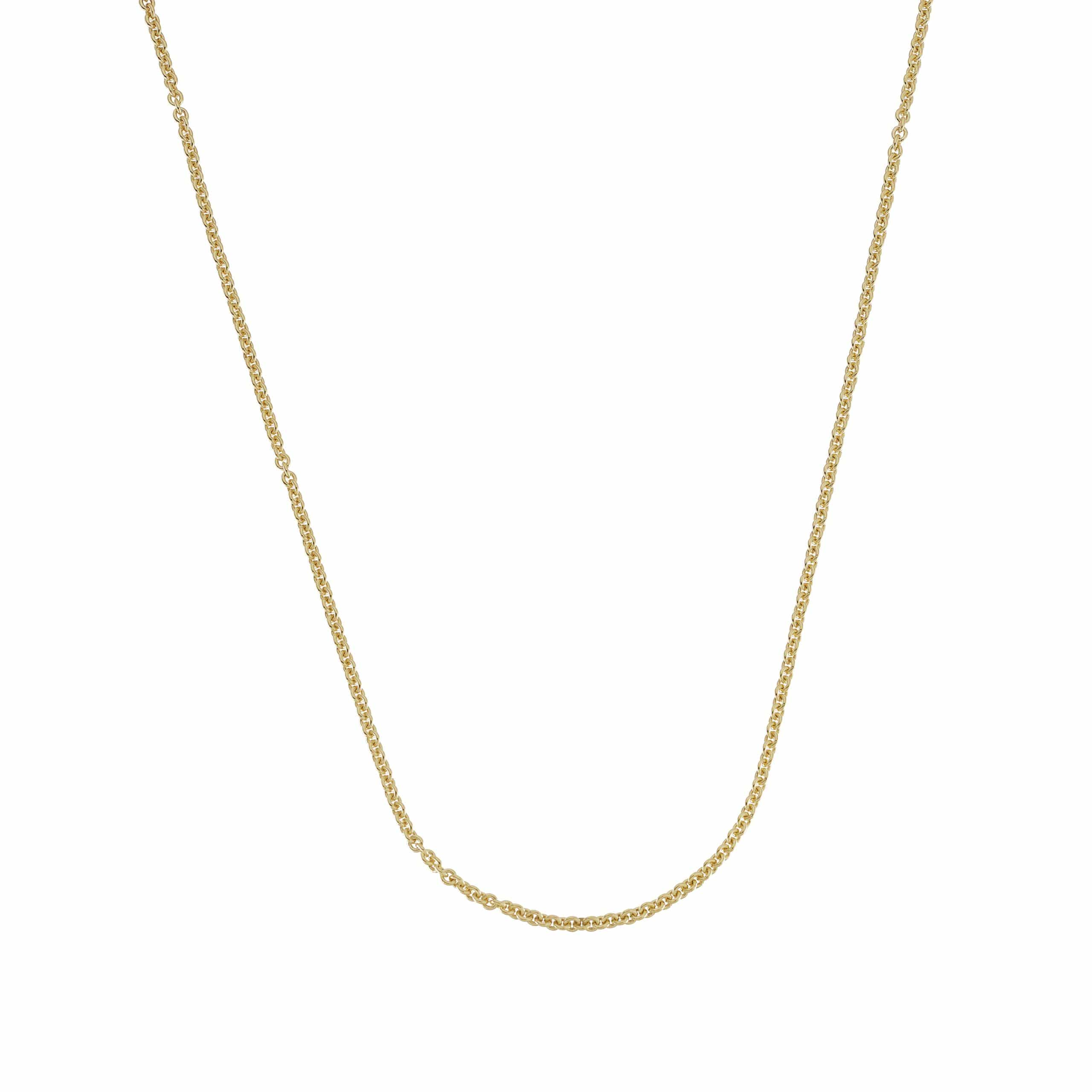 9ct Gold Thin Trace Chain The Great Frog
