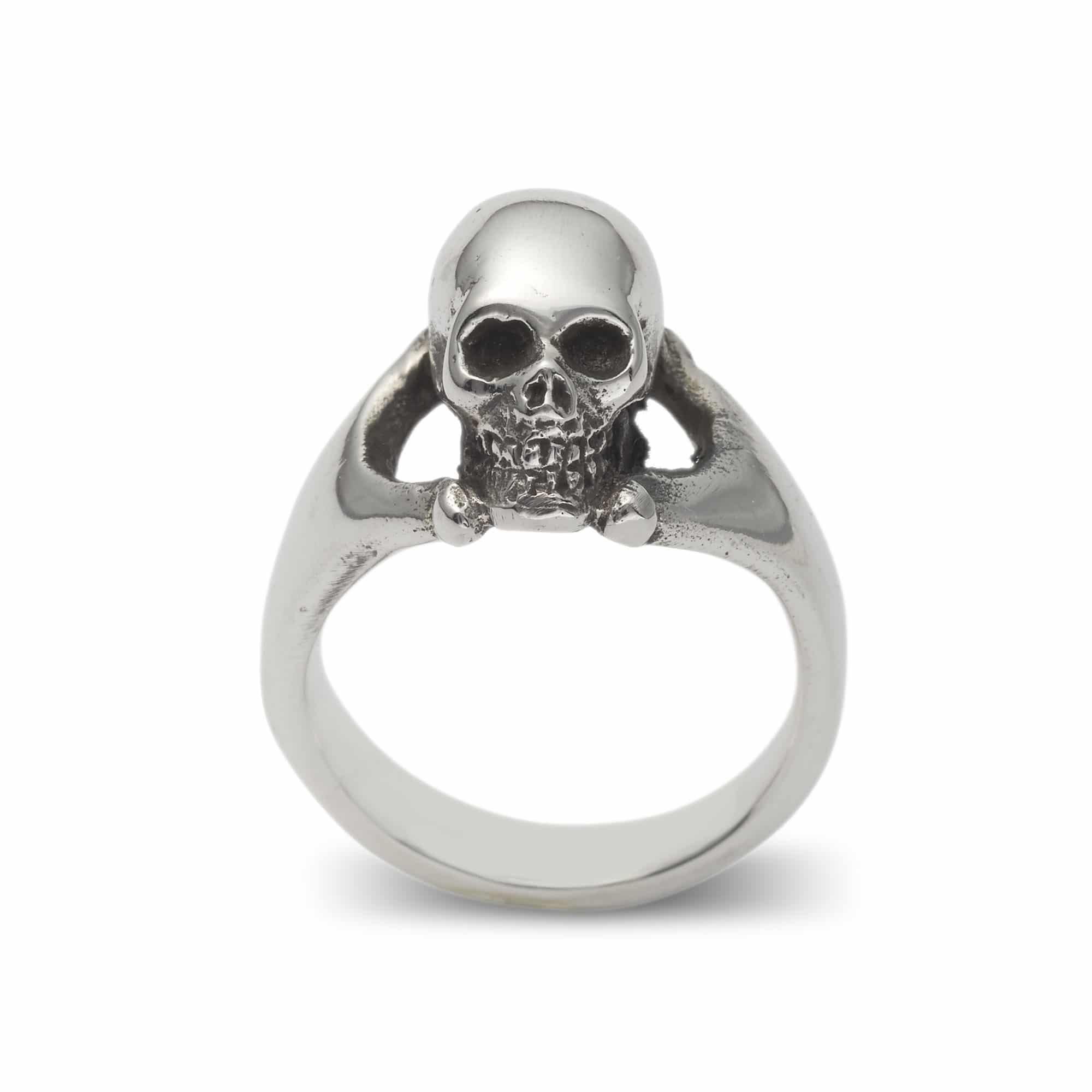 3d Skull Ring The Great Frog