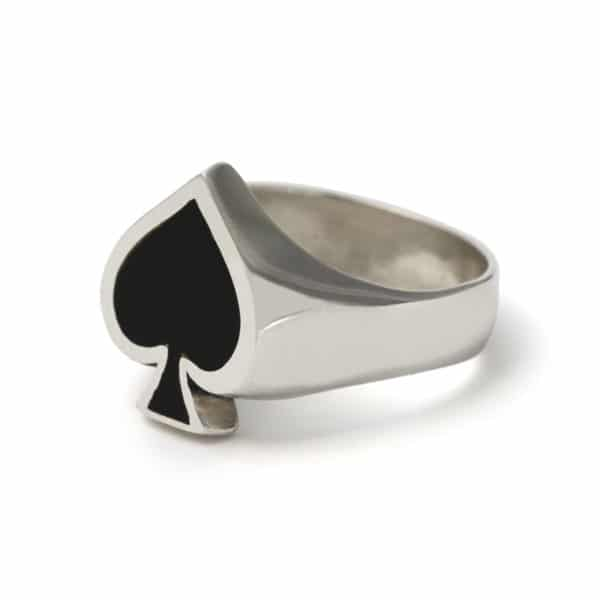 ace-of-spades-enamel-ring-angled
