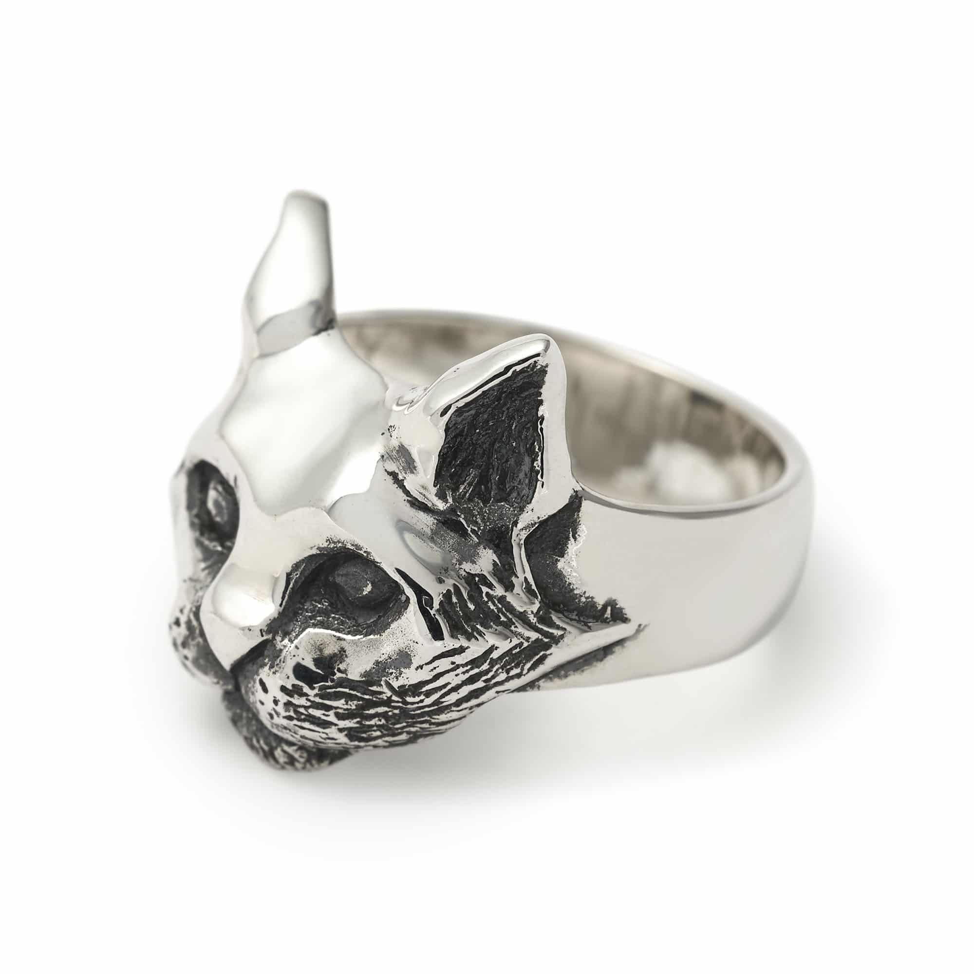 new cute jewelry ring cat for s girl com unique products bijoux storesixtys finger vintage rings women storesixty hot ear