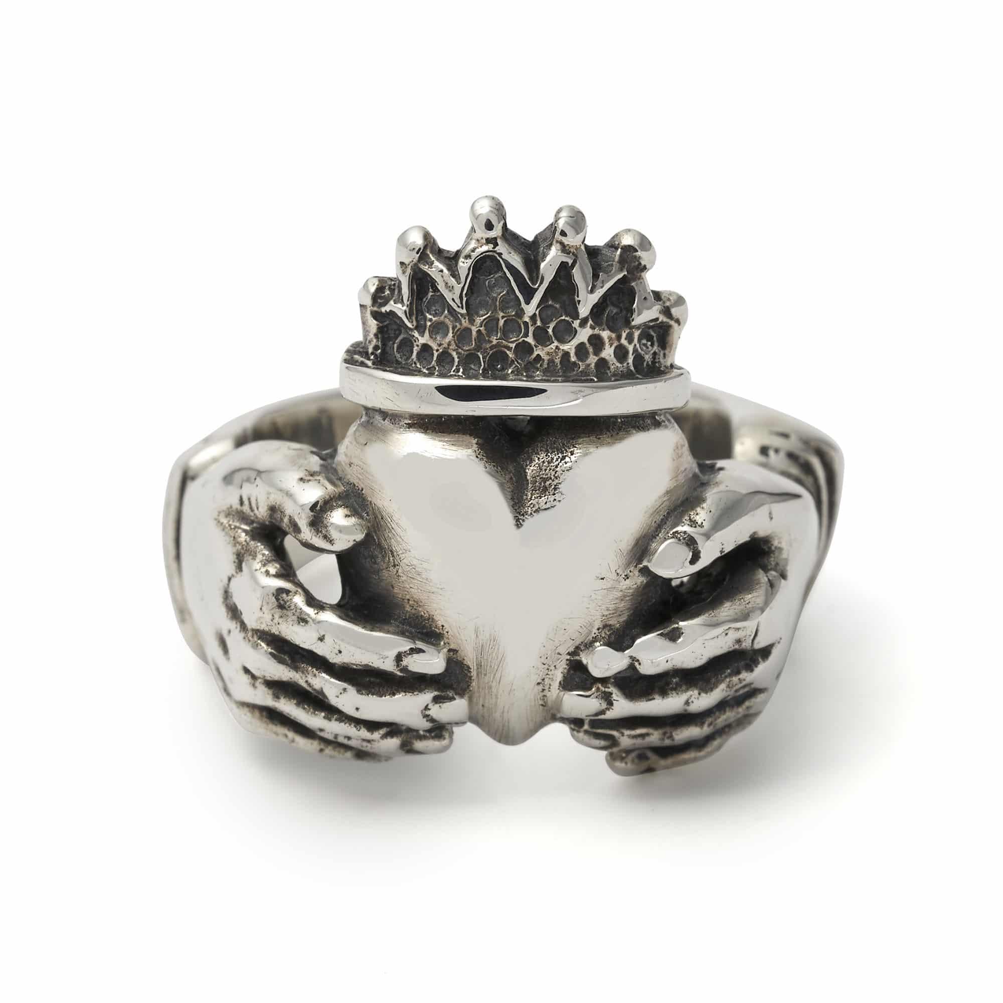 Gold Irish Heart Ring