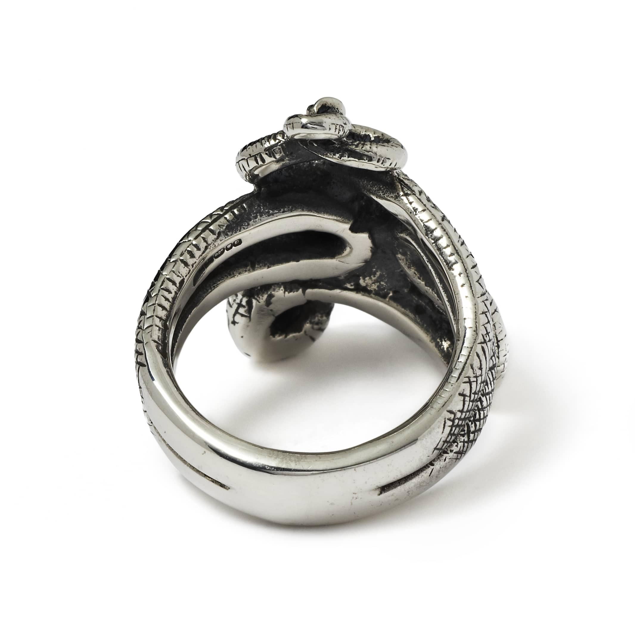 tail snake snakes ouroboros double serpent img products sweet rings ring rattle