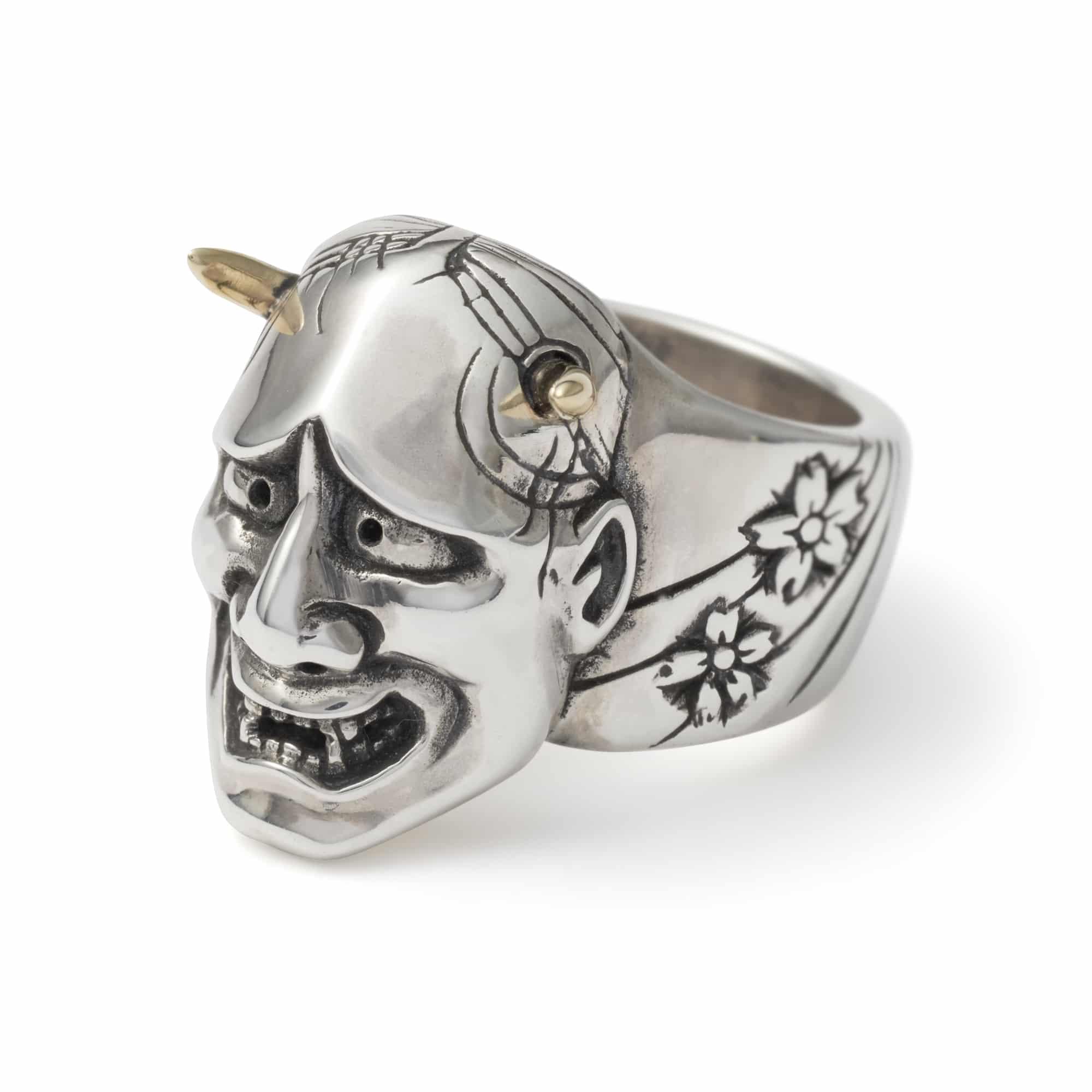 Samurai Mask Ring