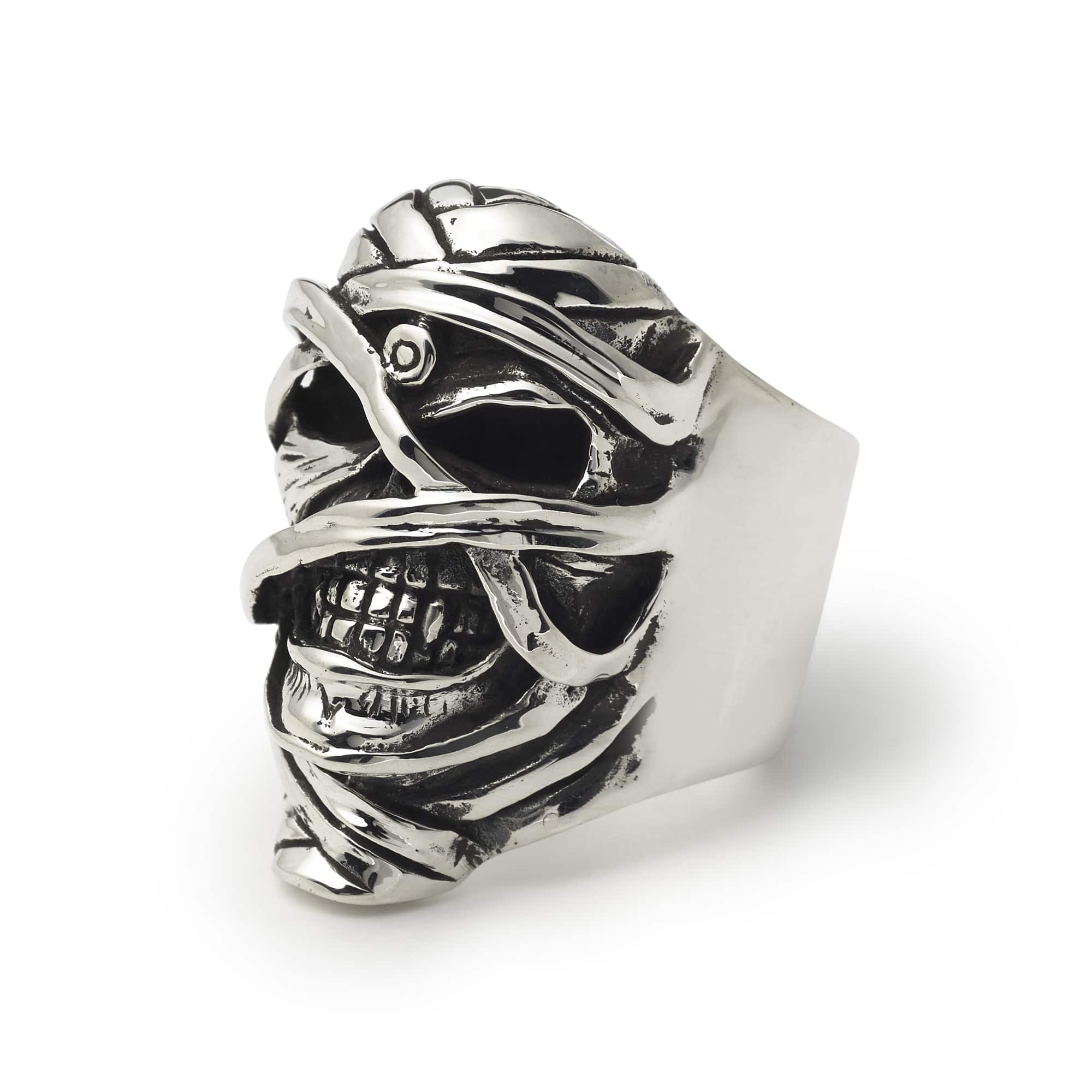 Iron Maiden \'Powerslave Eddie\' Ring – The Great Frog